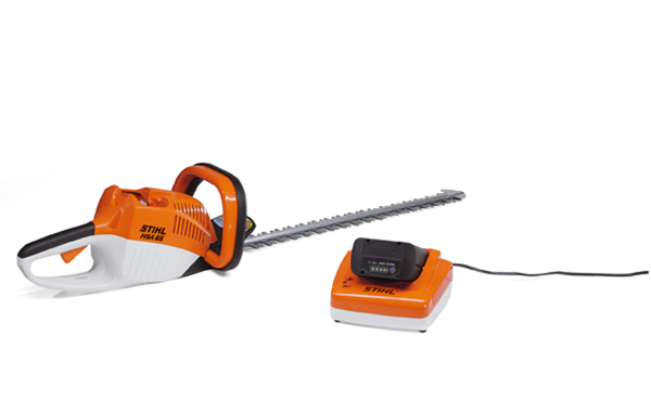 The HSA 65 cordless hedge trimmer
