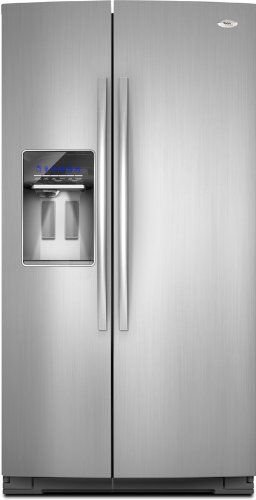 Whirlpool 26.4 cu. ft. Side by Side Refrigerator in Monochromatic Stainless Steel