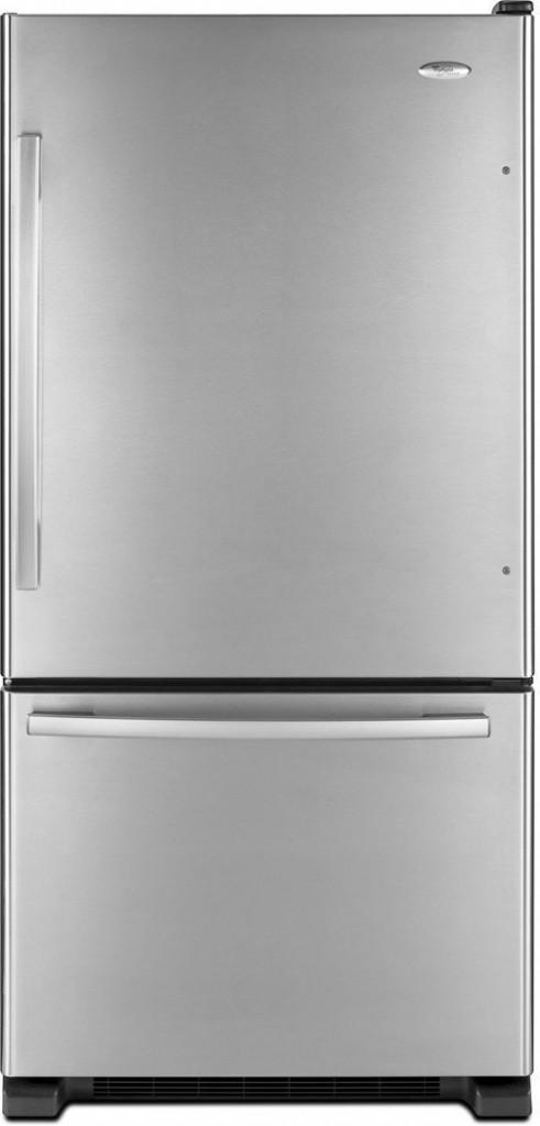 Whirlpool GB2FHDXWS Gold 21.9 Cu. Ft. Stainless Steel Bottom Freezer Refrigerator - Energy Star