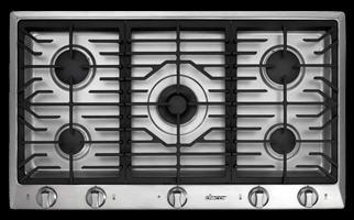Dacor Distinctive DCT365SNG 36 Gas Cooktop
