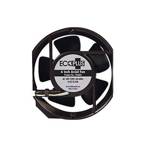 EcoPlus 6-Inch Axial Fan for Greenhouses, 235CFM