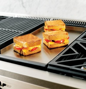 Gas Cooktop With Grill