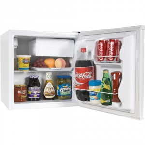 Haier HCR17W 1.7 Cubic Feet Refrigerator Freezer, White Review