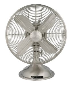 Hunter 90400 12-Inch Portable Table Fan – No Assembly Required