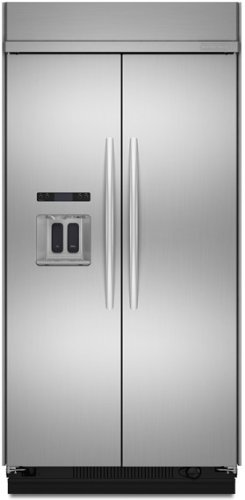 KitchenAid® 29.7 Cu. Ft. 48-Inch Width Built-In Side-by-Side Refrigerator