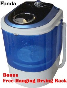 Panda Small Mini Portable Compact Washer Washing Machine 5.5lbs Capacity Review