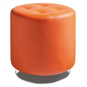Best Orange Ottoman