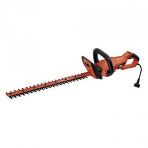 Black & Decker HH2455 HedgeHog Hedge Trimmer with Rotating Handle and Dual Blade Action Blade