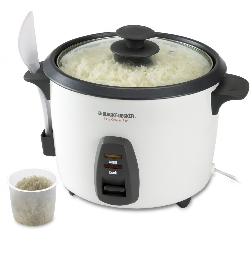 Black & Decker RC436 16-Cup Rice Cooker, White