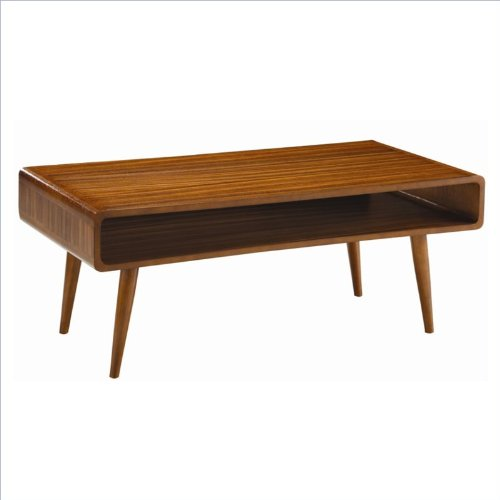 Boraam 32211 Zebra Series Halmstad Coffee Table