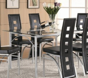 5 Best Glass Kitchen Tables – Easy to clean and care