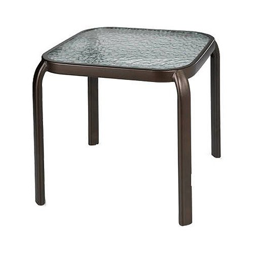 Courtyard Creations Woodfield Stacking Side Table, 16 by 16-Inch