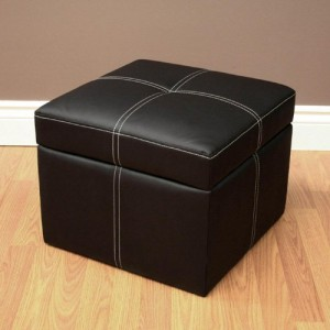 5 Best Black Leather Ottoman – Elegant enough to make your room attractive