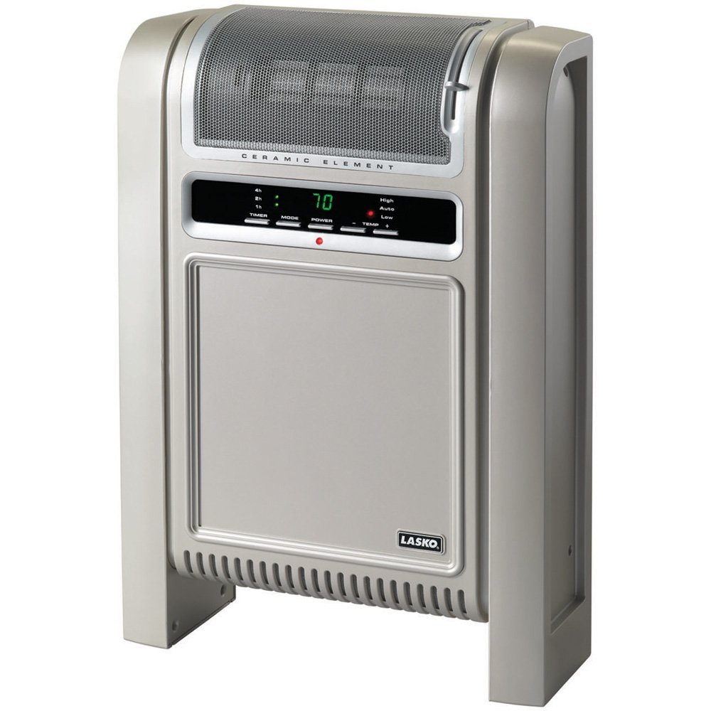 Lasko 758000 Cyclonic Ceramic Electric Space Heater