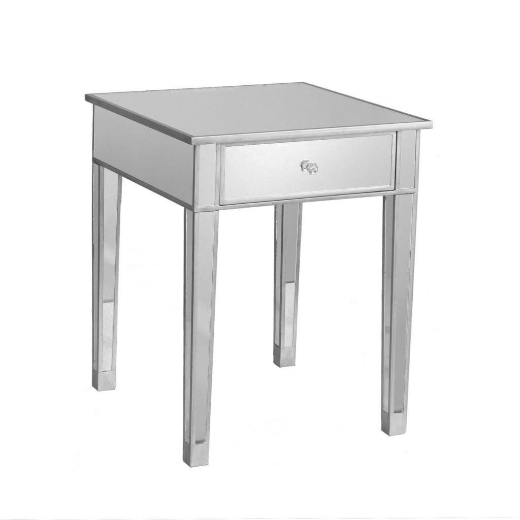 SEI Mirage Mirrored Accent table