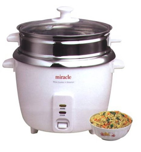 Stainless Steel Rice Cooker Model ME81