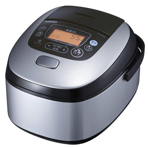 TOSHIBA vacuum pressure IH rice cooker RC-10VRG-S(Japan Import)