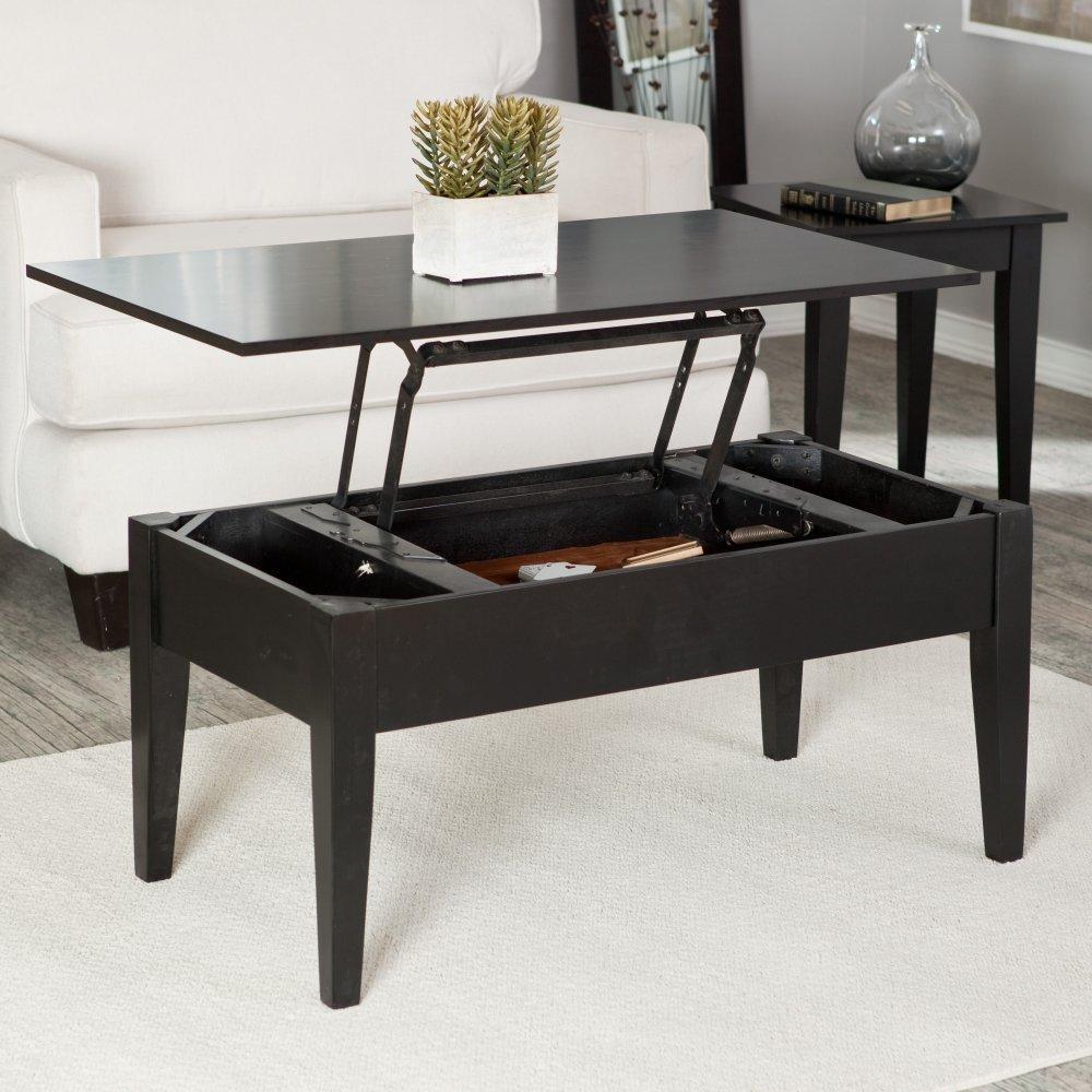 Turner Lift Top Coffee Table – Black
