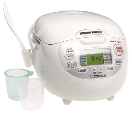 Zojirushi 5-1 2-Cup (Uncooked) Neuro Fuzzy Rice Cooker