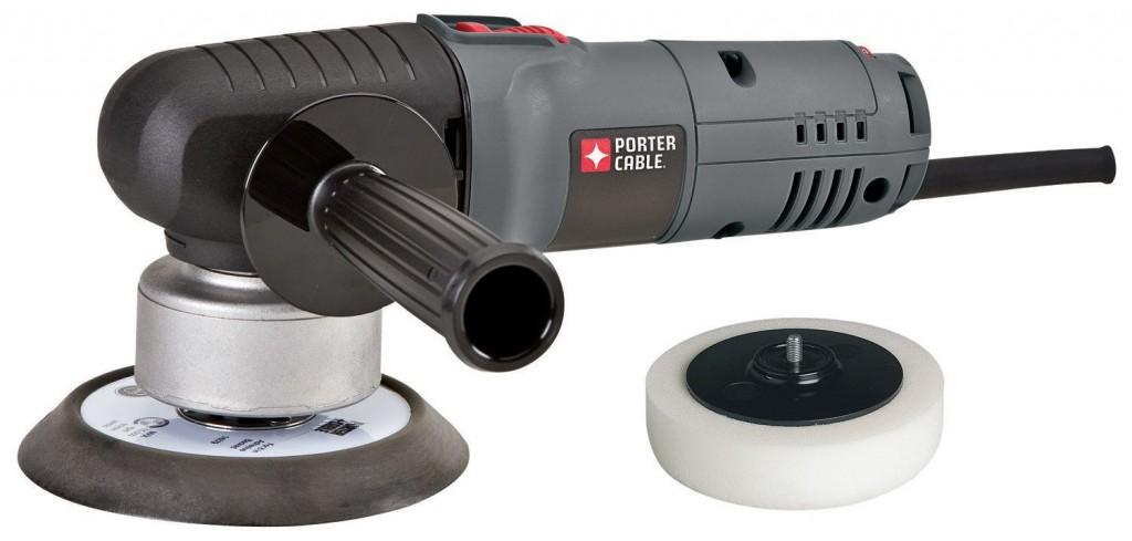 PORTER-CABLE 7346SP 6-Inch Random Orbit Sander with Polishing Pad