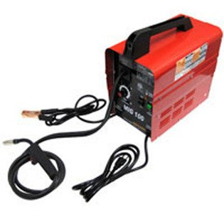 90 Amp 120v Wire Feed Portable Mig Welder Non Gas