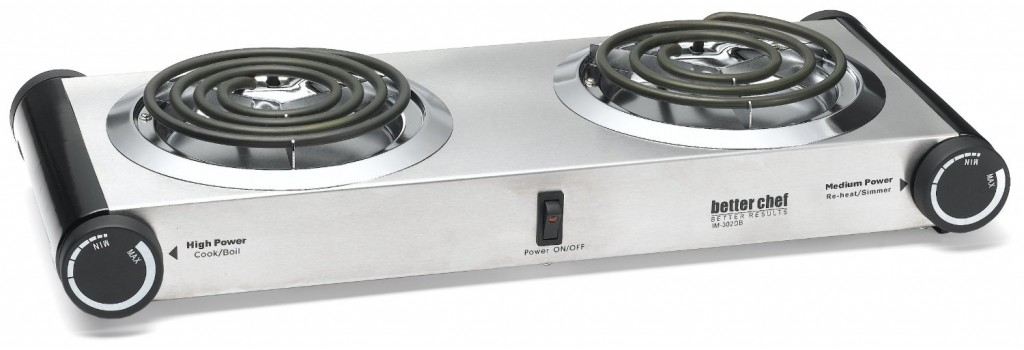 Better Chef Buffet Burner Table Top Dual