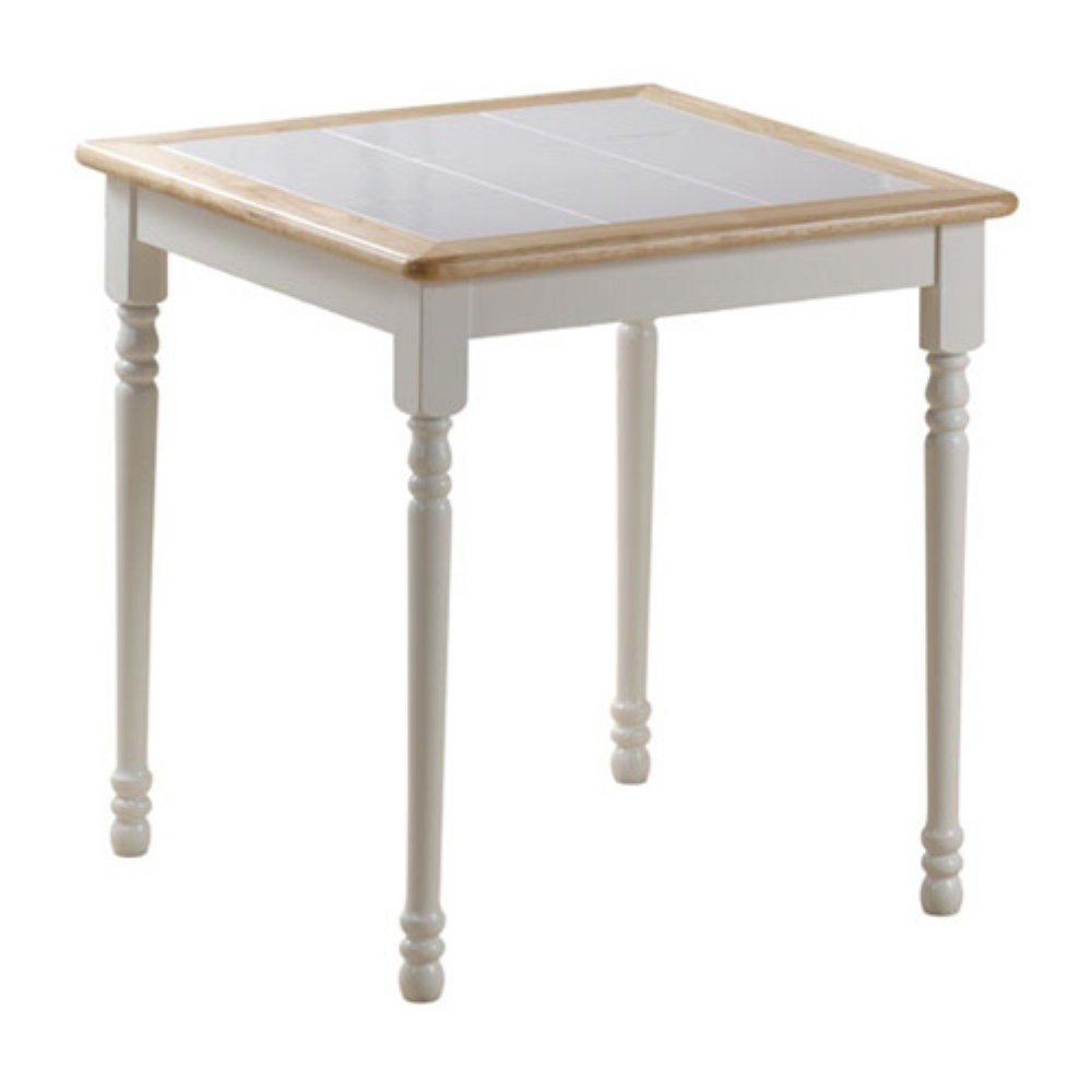 Boraam Square Tile Top Table, 30-Inch