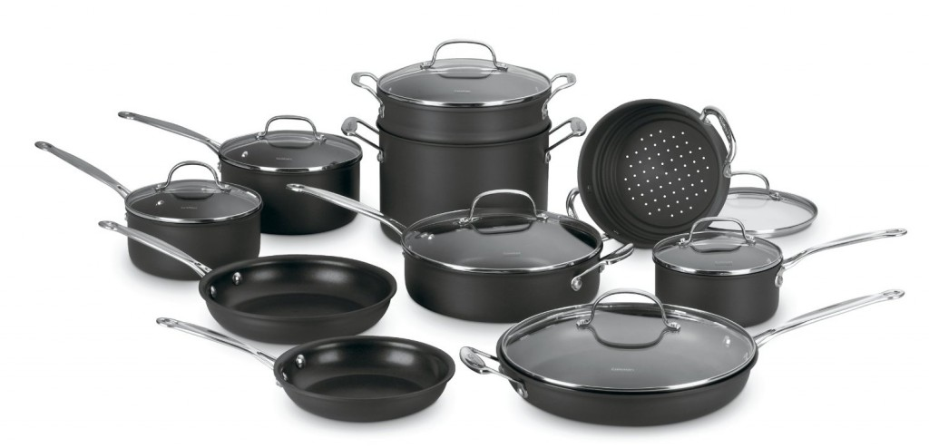 Conair Cuisinart Chef's Classic 10-Piece Stainless Steel Cookware Set