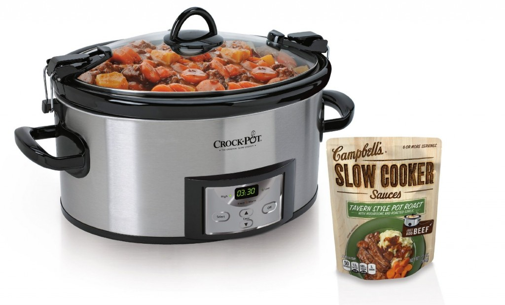 Crock-Pot Programmable Cook and Carry Oval Slow Cooker