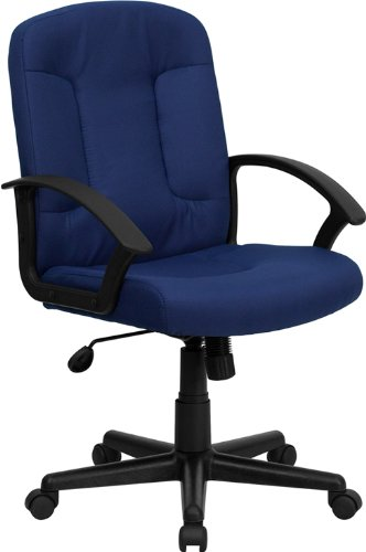 Flash Furniture Mid-Back Task and Computer Chair with Nylon Arms