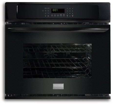 Frigidaire Gallery Series 27 Black Single Electric Wall Oven