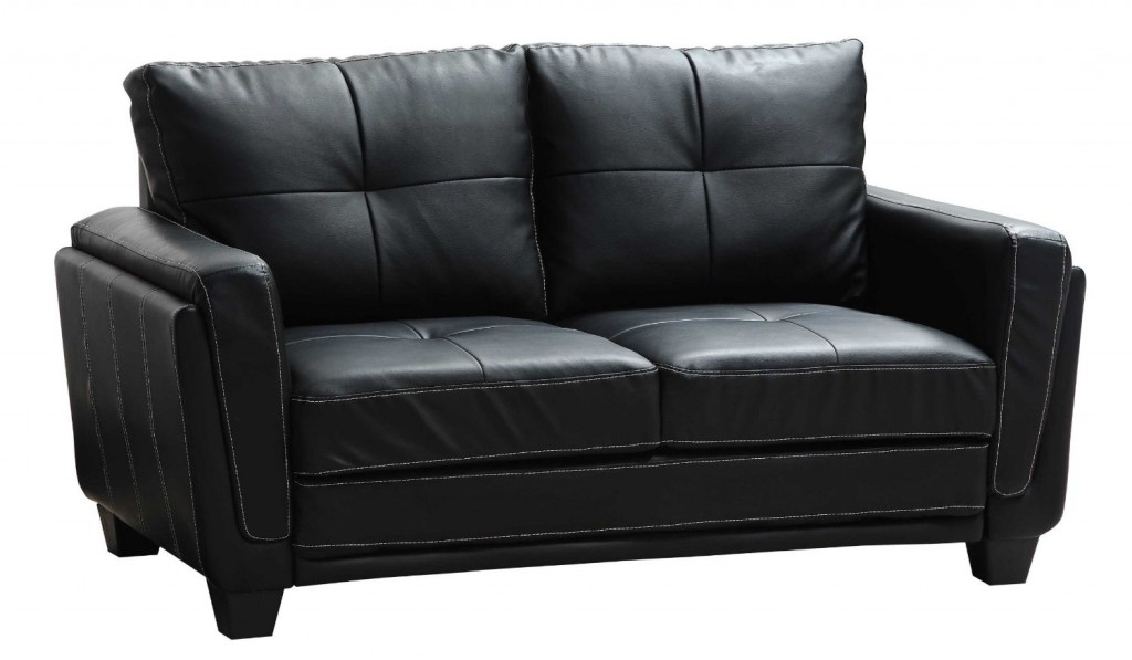 Homelegance 9701BLK-3 Dwyer Sofa