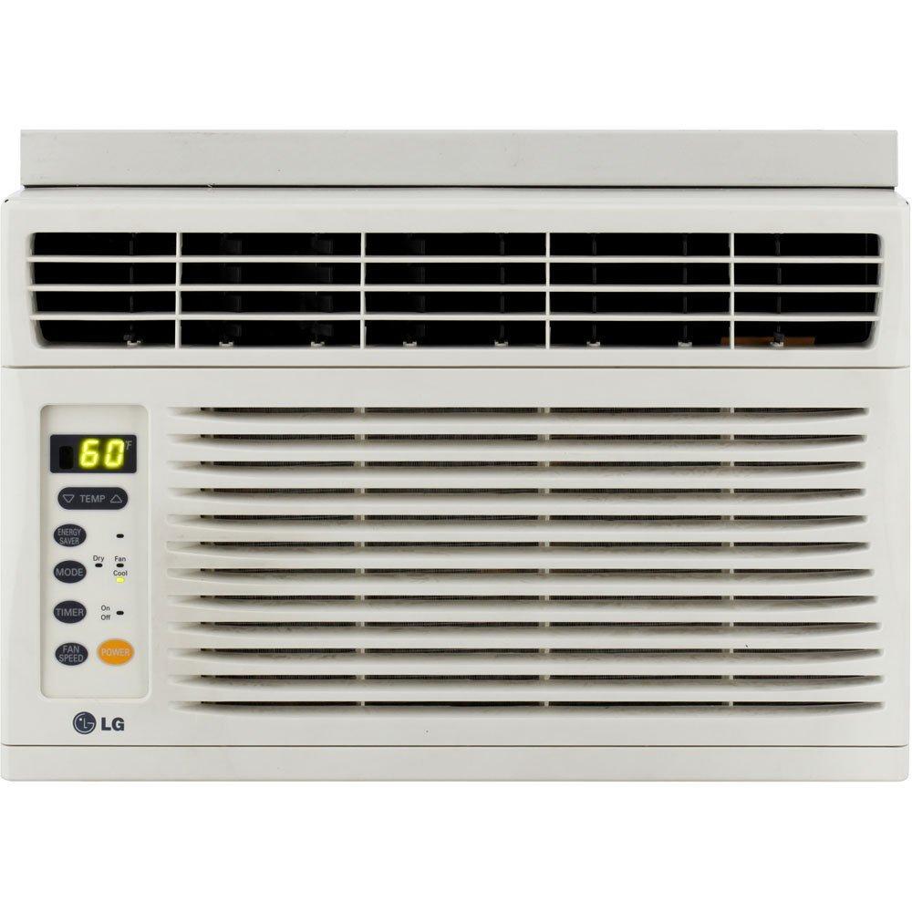 LG 6,000 BTU Window-Mounted Air Conditioner