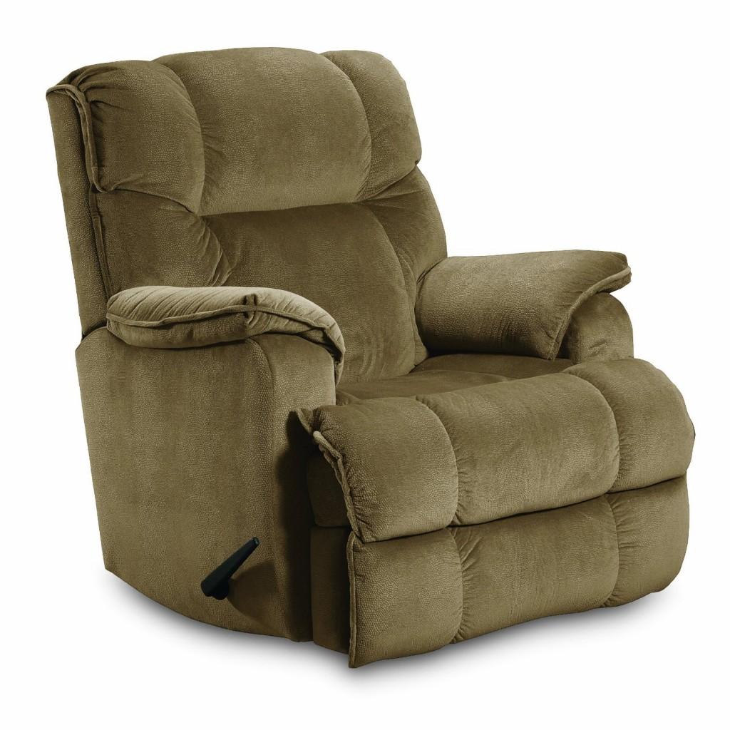 Lane ComfortKing Grant Rocker Recliner for Big and Tall, Tan