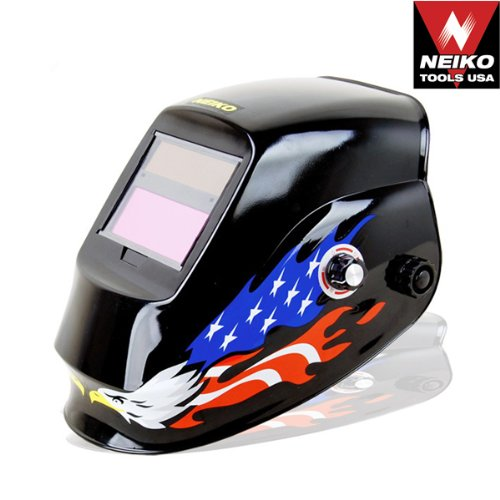 Neiko Auto Darkening Solar Powered Welding Helmet