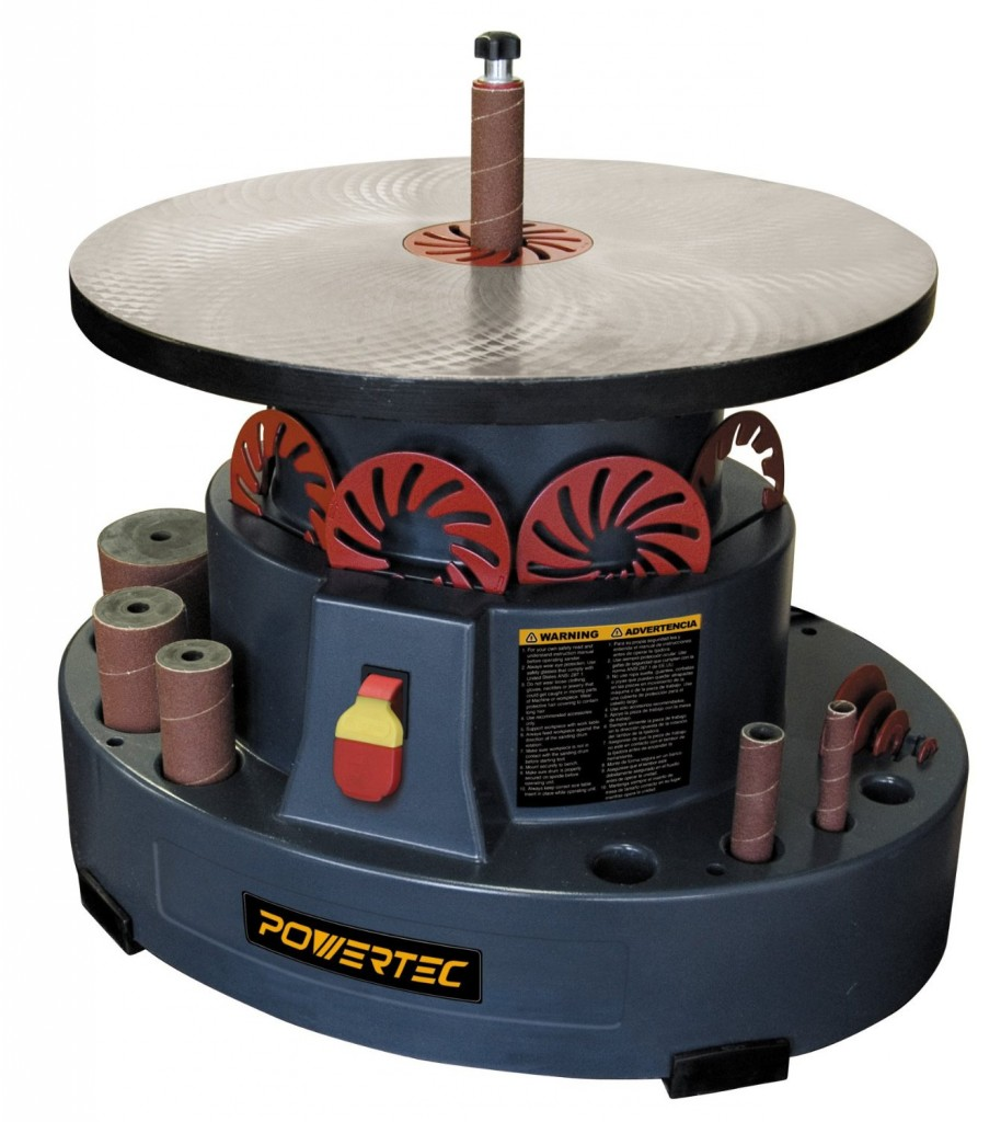 POWERTEC OS1000 Oscillating Spindle Sander