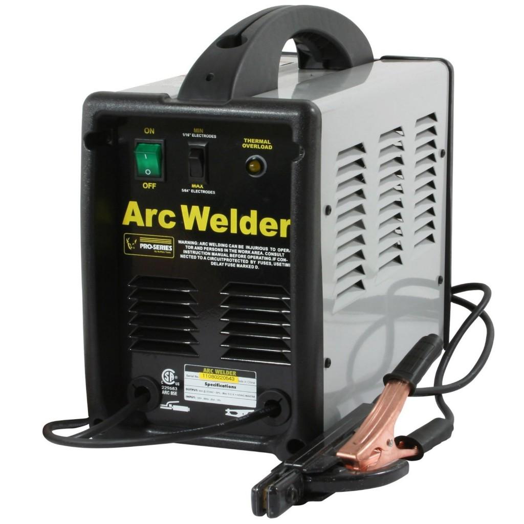 Pro-Series PS07572 120 Volt Arc Welder, Black and Gray