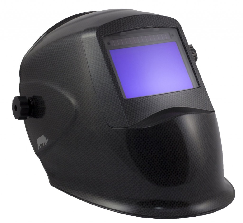 Rhino LARGE VIEW Auto Darkening Welding Helmet Hood Mask