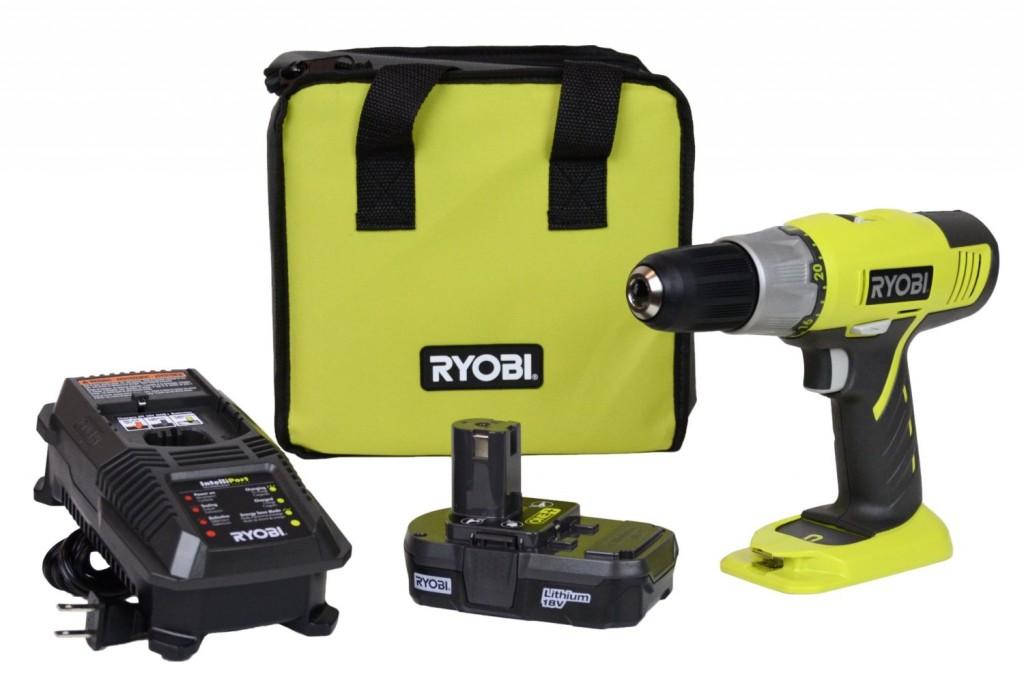 Ryobi 18-Volt ONE+ Lithium-ion Drill Kit