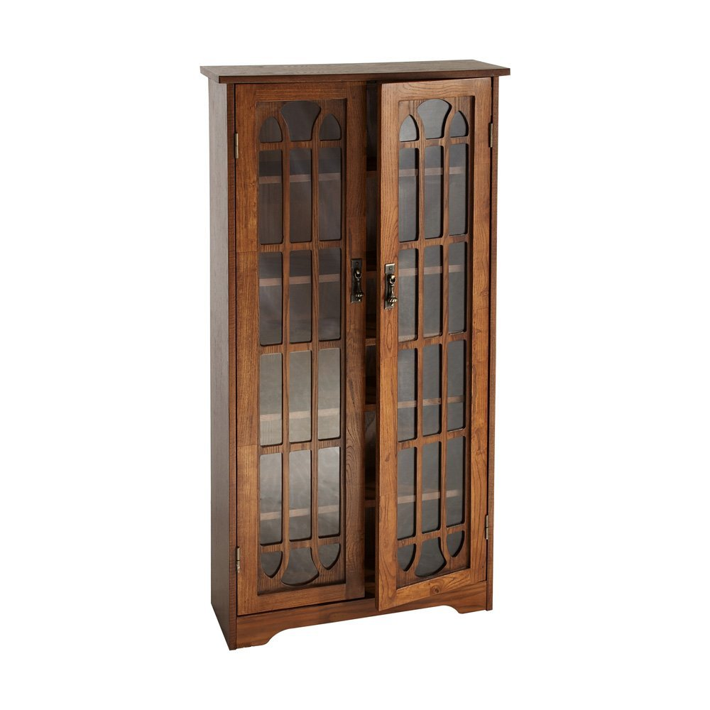 SEI Window Pane Media Cabinet