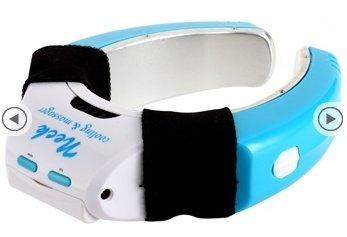 Sabuy Neck Massager & Handheld Mini Air Conditioner (Blue) HJ2006L