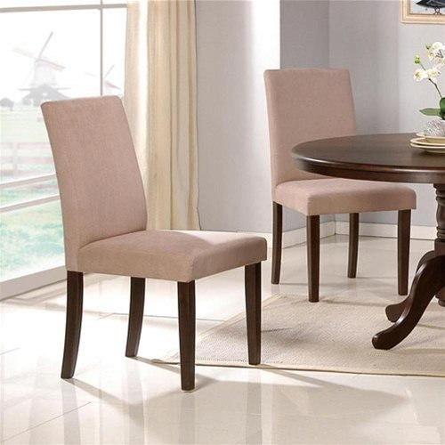 Set of 2 Parson Dining Chairs