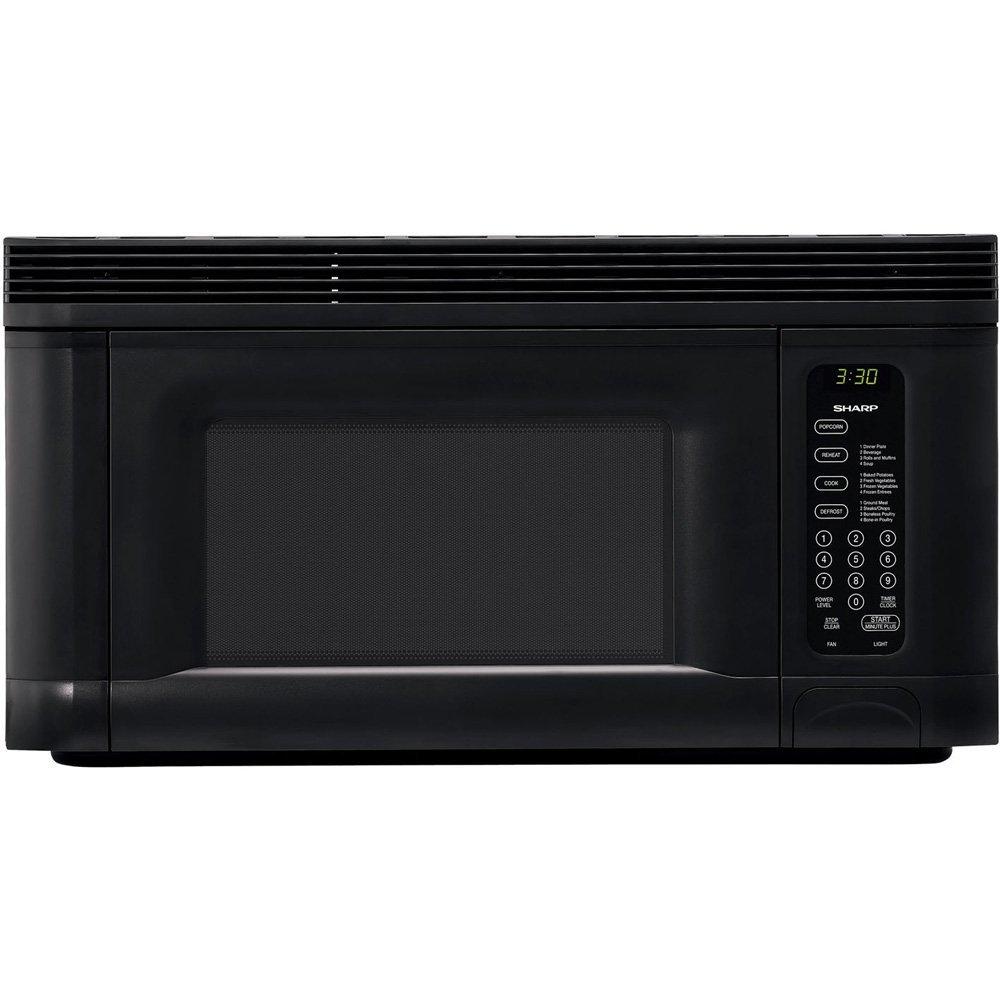 Sharp 950-Watt 1-2 5-Cubic-Foot Over-the-Range Microwave
