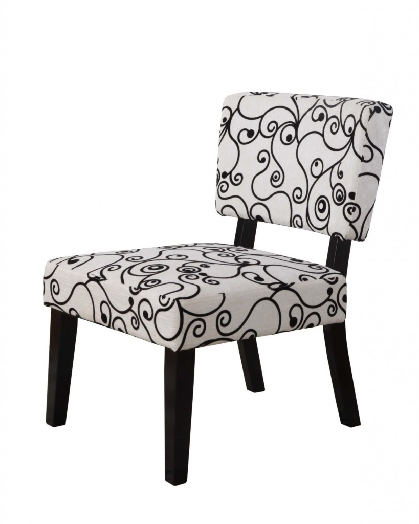 Taylor Accent Chair - Black Swirl