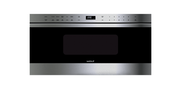 Wolf 30 Stainless Steel Transitional Drawer Microwave Oven - MD30TES
