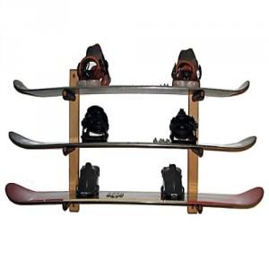 Ski Storage Racks Wood