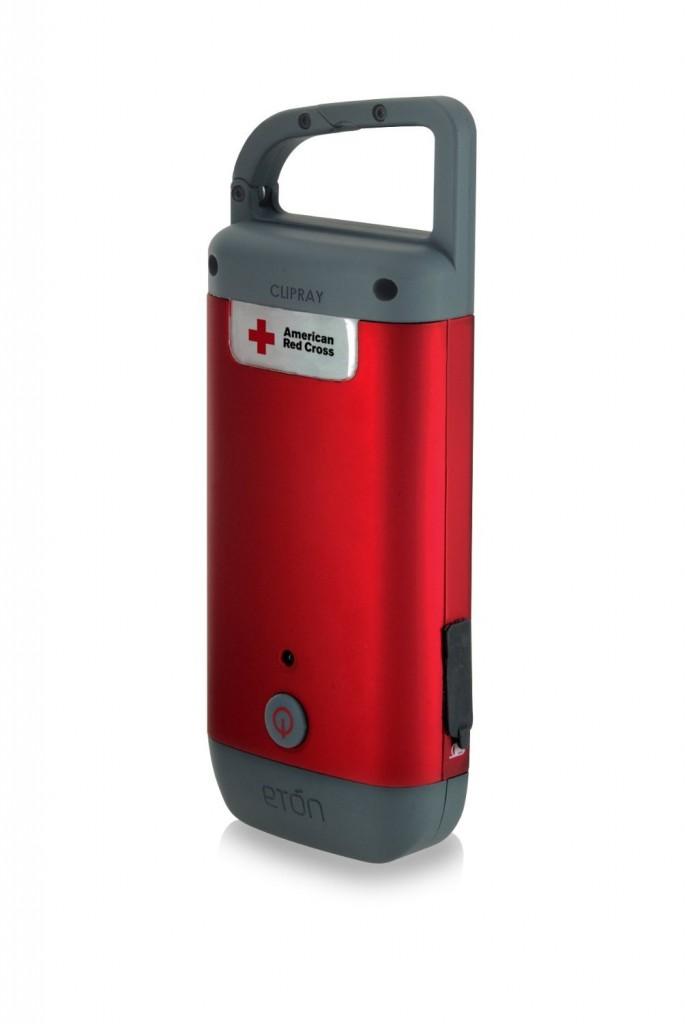 Eton Red Cross Clipray Clip-On Flashlight