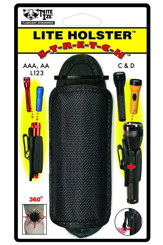 Nite Ize LHS-03 Clip-On Flashlight Holster