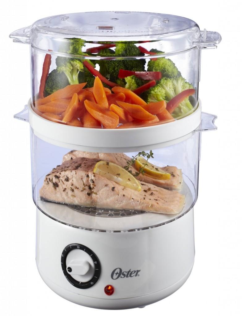 Oster CKSTSTMD5-W 5-Quart Food Steamer