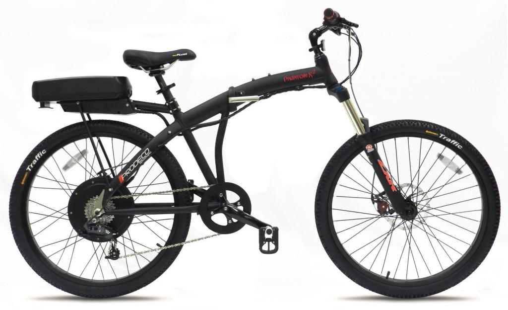 Prodeco V3 Phantom X2 8 Speed Folding Electric Bicycle